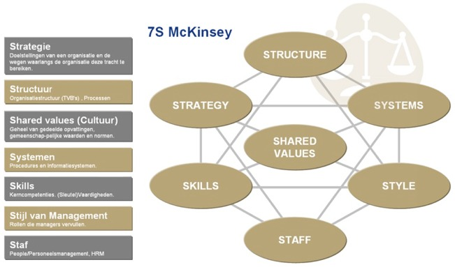 applying mckinsey 7s model Mckinsey 7s model framwork and 2 case studies completely solved.